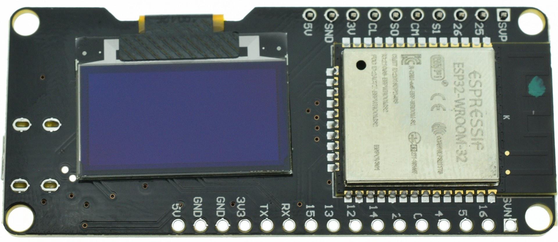 ESP32 Wemos OLED - Arduino - WIKI