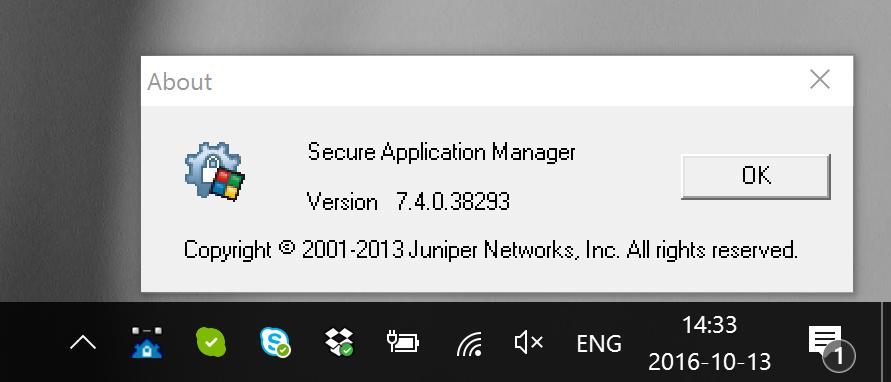 Juniper SAM web VPN Client on Windows 10 - DevOps - WIKI